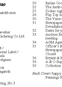 MLN 426 April 2018 contents