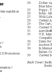 MLN 427 June 2018 contents
