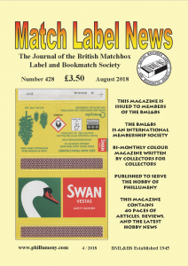 MLN 428 August 2018 front cover