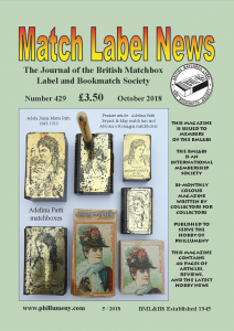 MLN 429 October 2018 front cover