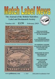 MLN 431 February 2019 front cover