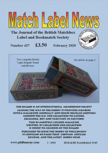 MLN 437 February 2020 front cover