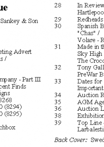MLN 438 April 2020 contents