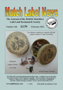 MLN 443 February 2021 front cover