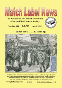 MLN 444 April 2021 front cover