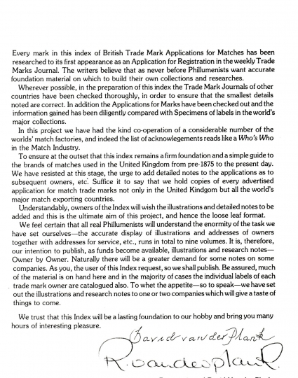 Index of British Trade Marks, page 4
