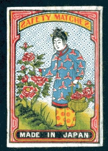Japan export label, Meiji – Taisho era