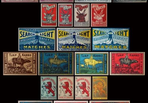 Matchbox label variations