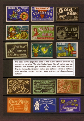 Indian and German labels