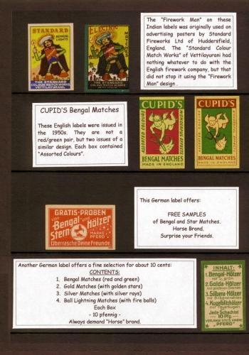 British and German labels