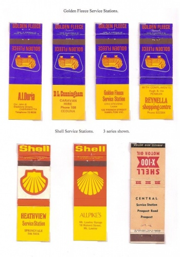 Golden Fleece and Shell covers