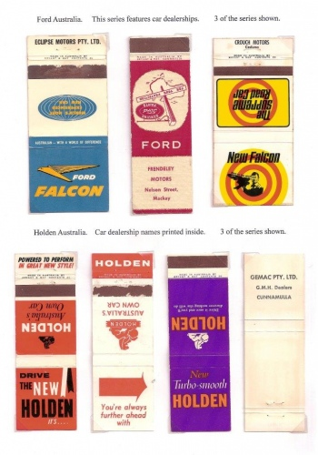 Ford and Holden covers