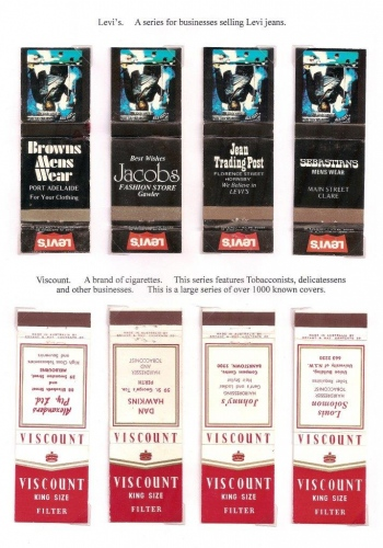 Levi's and Viscount covers
