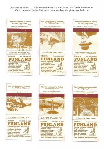 Australiana series covers