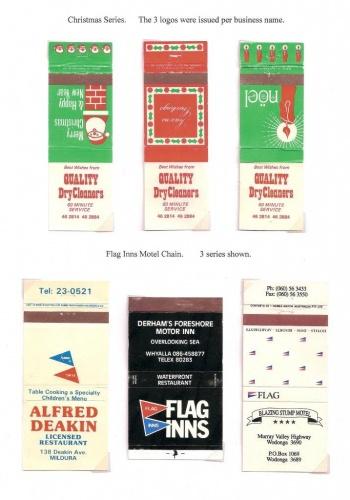 Christmas and Flag Inns covers