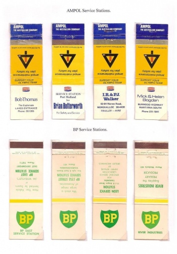 AMPOL and BP covers