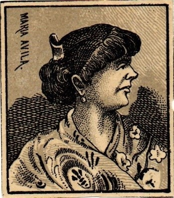 Maria Ávila, sister of Dolores