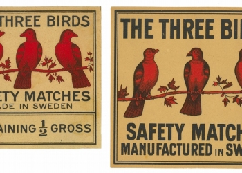 Threes packet labels, Sweden