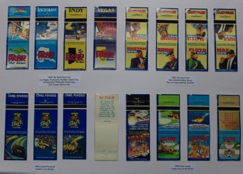 1992 and 1994 bookmatches