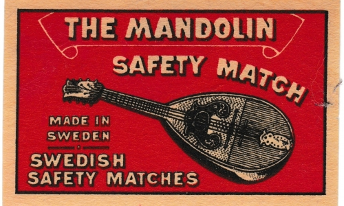Swedish box label