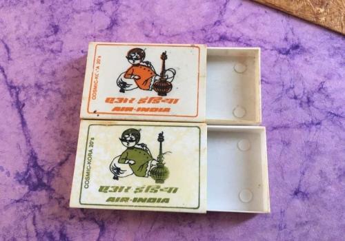 Air India plastic boxes