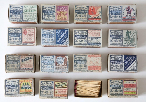 Advertising boxes, 1930s