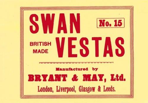 Dozen wrapper for No. 15 boxes, 1931
