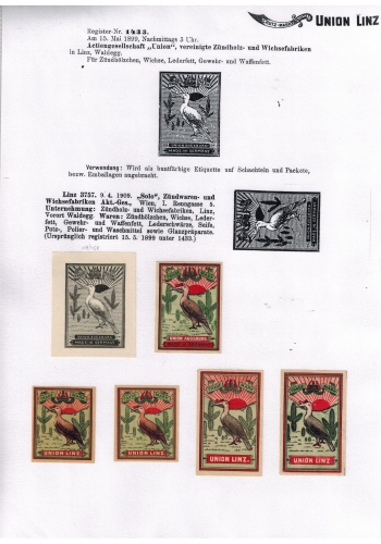 1899 and 1909 registrations