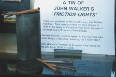 John Walker Friction Lights, © BML&BS