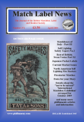 MLN 372 April 2009 front cover