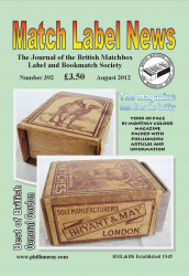 MLN 392 August 2012 front cover