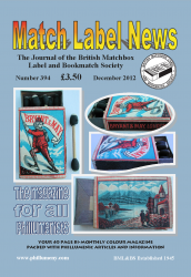MLN 394 December 2012 front cover
