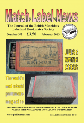 MLN 395 February 2013 front cover