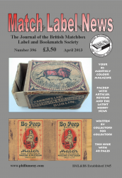 MLN 396 April 2013 front cover