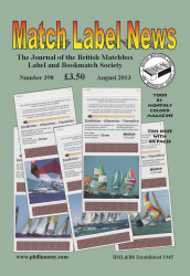 MLN 398 August 2013 front cover