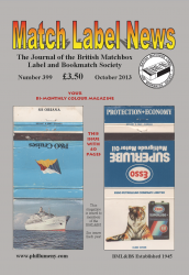 MLN 399 October 2013 front cover
