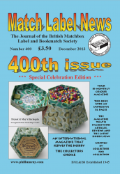 MLN 400 December 2013 front cover