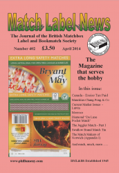 MLN 402 April 2014 front cover