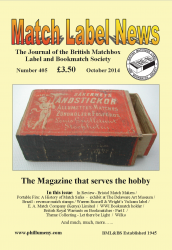 MLN 405 October 2014 front cover