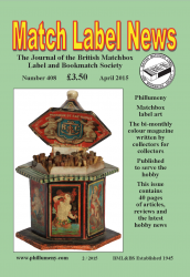 MLN 408 April 2015 front cover