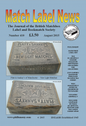 MLN 410 August 2015 front cover