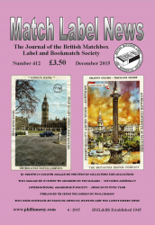 MLN 412 December 2015 front cover