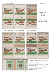 100 years of Tiger - MLN 425 February 2015 p29