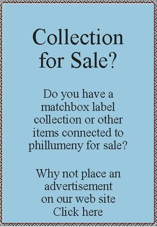 Advert - selling a collection