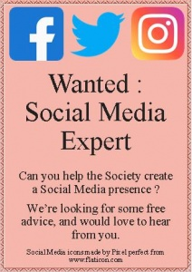 Advert - Social Media Expert wanted