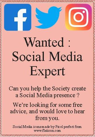 Advert - Social Media Expert wanted