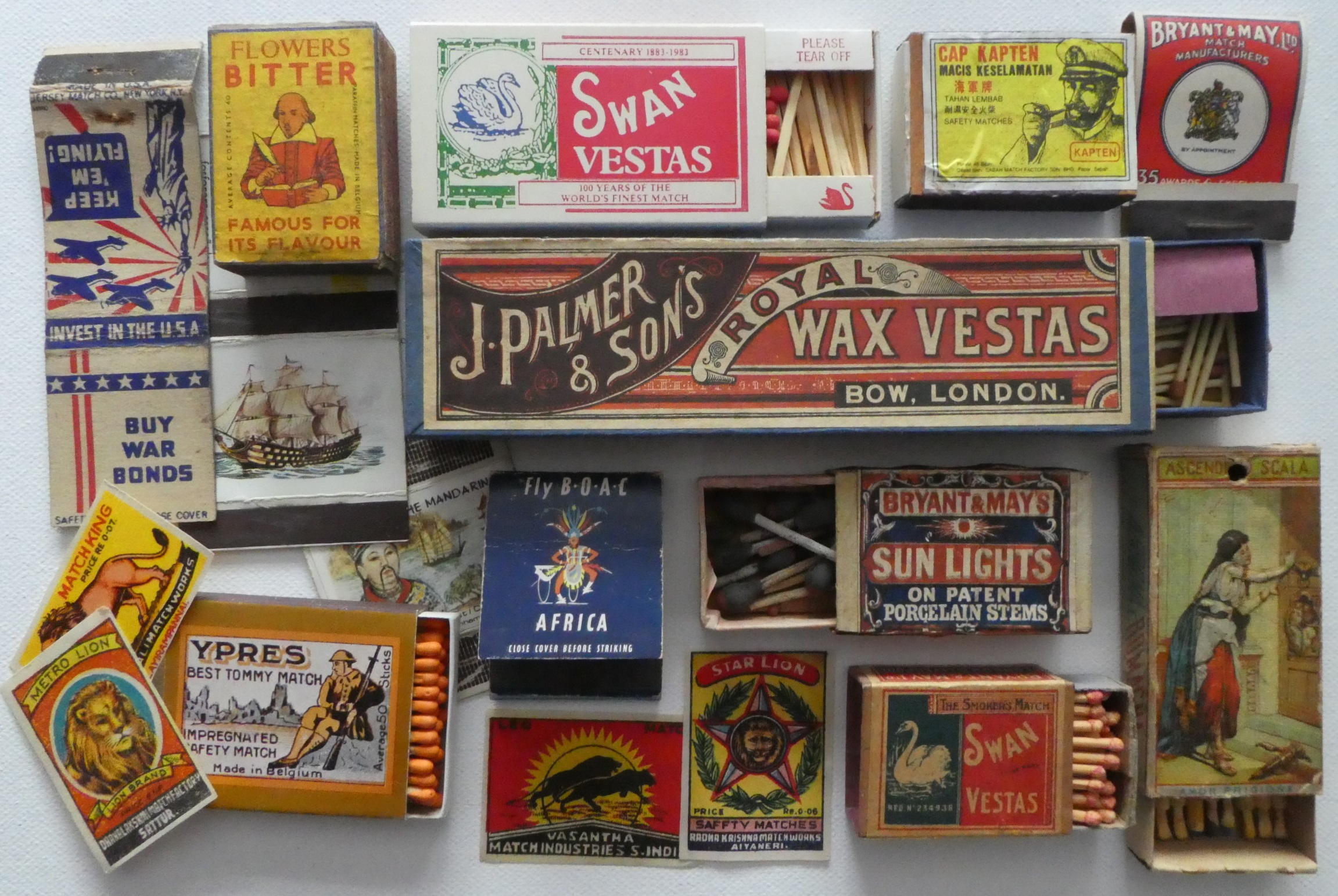 Here are some items that interest our members and inspire them to collect