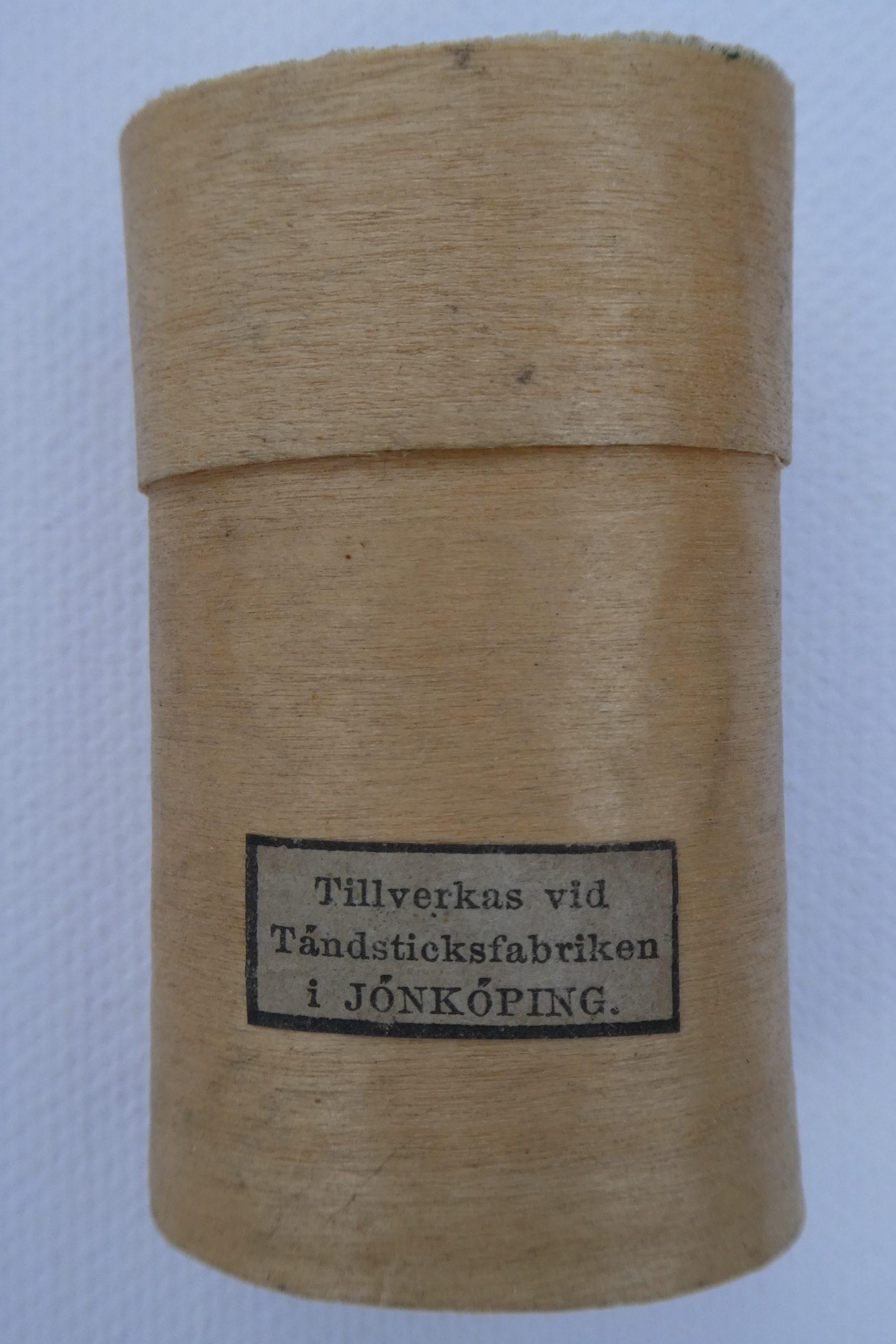 Sweden: Jönköpings Tändstickor 1848