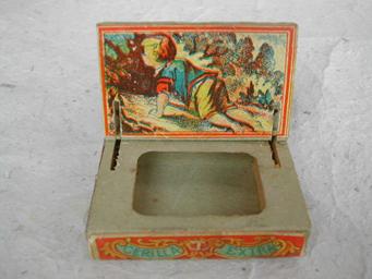 Spanish matchbox ca. 1880