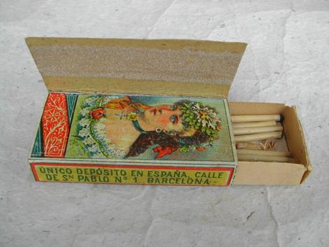 Spanish matchbox ca. 1885